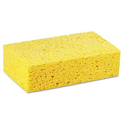 Premiere Pads Large Cellulose Sponge 7-51/64in Length by 4-17/64in Width Yellow
