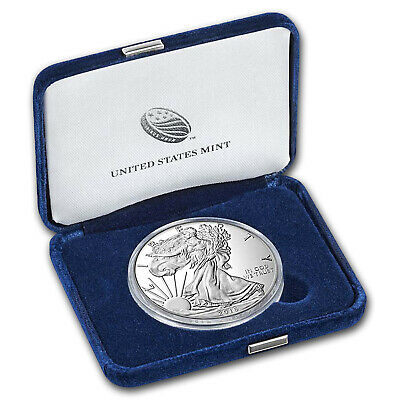 2016-W 1 oz Proof Silver American Eagle (w/Box & COA) - SKU #96157