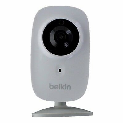 Belkin NetCam HD+ Wi-Fi Camera with Night Vision - White