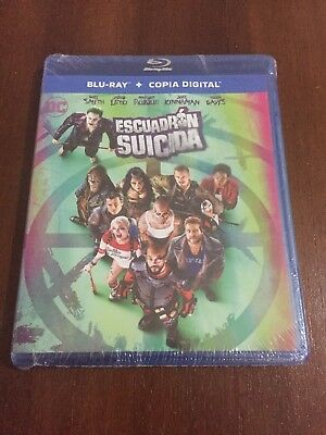 Escuadron Suicida Bluray+ Copia Digital - 123 Min - New Sealed Nuevo Embalado