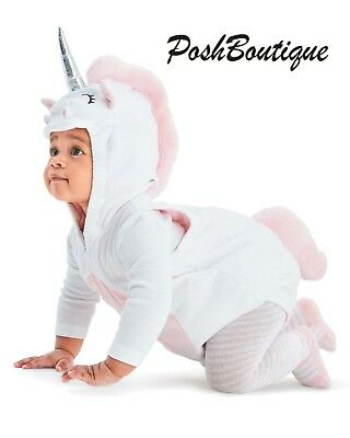 NWT Carter's Baby Infant Unicorn Costume 3 6 9 12 18 24 Months Christmas Gift!