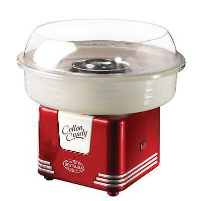 Nostalgia Cotton Candy Machine Maker Electric Floss Commercial Carnival Party