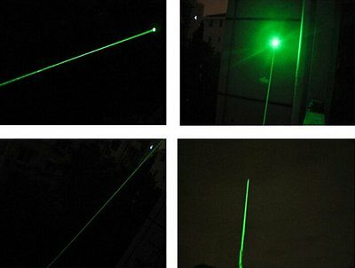 2PC 1mW 532nm Powerful Green Laser Pointer Light Pen Lazer Beam Pet Toy 2.3-3.0V