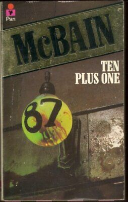 Ten Plus One by McBain, Ed Paperback Book The Cheap Fast Free Post