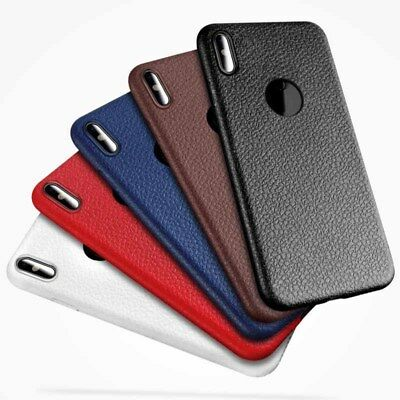 Leather Case Cover For Apple  TPU iPhone X/ Rugged Original