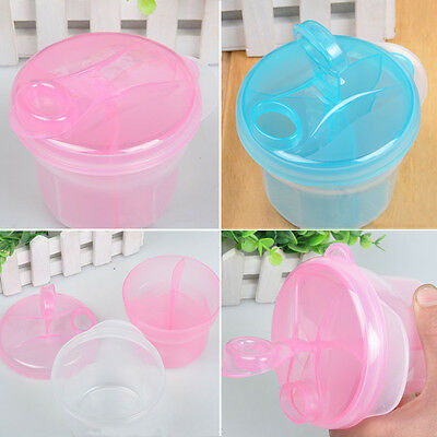 US Baby Milk Powder Formula Dispenser Food Container Storage  Feeding Box