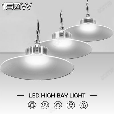 3X 150W LED High Bay Light Industrial Factory Warehouse Commercial Shed lighting