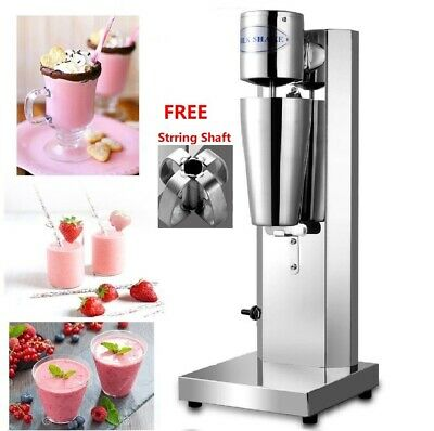 Commercial Milkshake Maker Machine Thickshake Frother Stainless Steel Smoothie