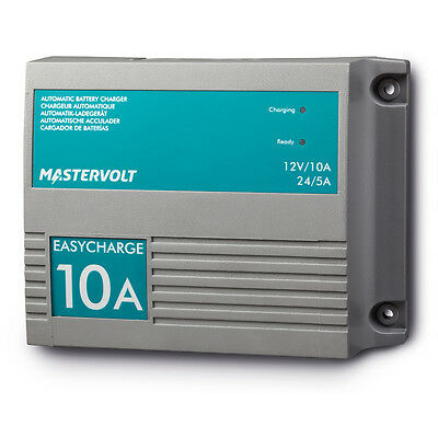 Mastervolt Easy Charge 10A Charger Waterproof IP68 Battery Charger 12V