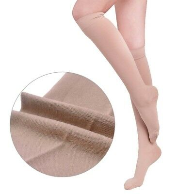 New Medical Compression Stockings/Socks Knee High Class II 23-32mmHg Closed Toe