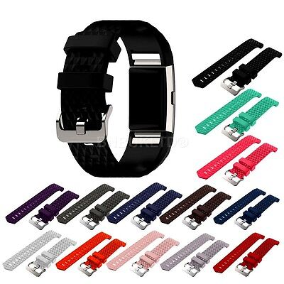 Replacement Wristband Bracelet Band Strap for Fitbit Charge 2 Fitness Tracker