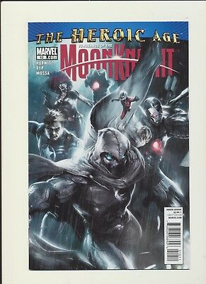 Vengeance Of The Moon Knight #10! Marvel Comics 2010! SEE SCANS! RARE BOOK! WOW!