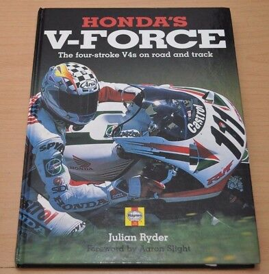 Honda V-Force Four The  four stroke V4s on Road and track Bildband Julian Ryder