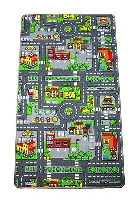 Children's Play Mats City Roads Town Shops Kids Carpets Educational Fun Rugs Mat