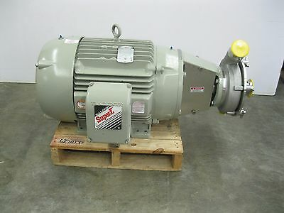 "3"" x 2-1/2"" Fristam FPX3542-175 Centrifugal Pump 40 hp Motor NEW Z37 (2027)"