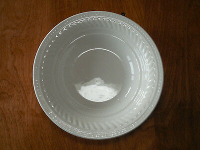"Gibson IMPERIAL BRAID Soup Cereal Bowl 8"" Gray White Embossed  1 ea 14 available"