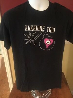 Alkaline Trio Band T Shirt Men's Medium