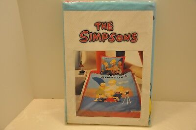 RARE 1991 The SIMPSONS- BEDDING SHEET SET from DENMARK