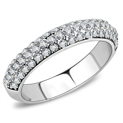 Brilliant Top Grade Crystal Fashion Cocktail Ring 5 6 7 8 9 10 TK3437