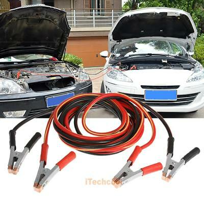 2000AMP Heavy Duty Jumper Leads Jump 5M Long Booster Cables Surge Protected Car