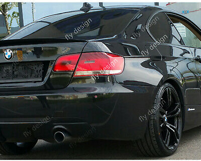 für BMW E92 Facelift Tuning LCI performance typ Lippe HECKSPOILER SPOILER Flap