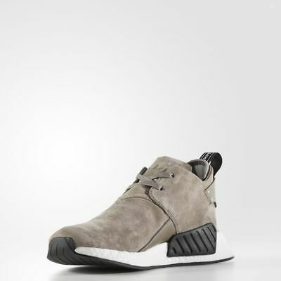 1c2721fc1945a Adidas NMD C2 Suede Simple Brown   BY9913   Men Chukka Nubuck Boost White  Black