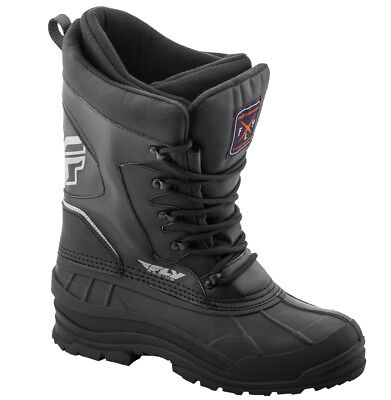 Fly Racing Aurora Snowmobile Boots Waterproof Insulated Snow Reflective Trim '18