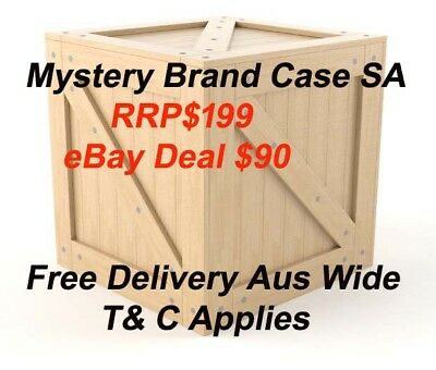 Mystery Brand Case Red Wine South Australia Shiraz 2015 Value Pack Free Delivery