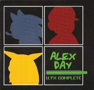 Alex Day - 117% Complete - Alex Day CD 72VG The Cheap Fast Free Post The Cheap