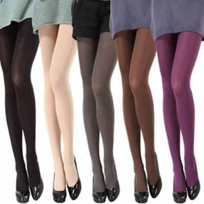 USA 8 Colors Women's Spring Autumn Footed Opaque Stockings Pantyhose Tights