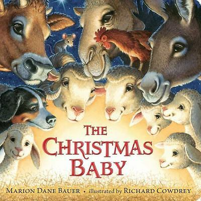 The Christmas Baby by Marion Dane Bauer - BOARD BOOK - BRAND NEW!