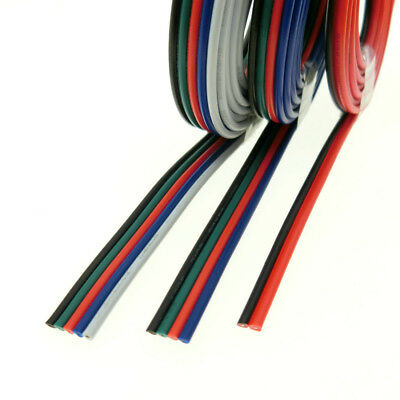 10m Lighting Wire 2pin 4pin 5pin for Single Color / RGB / RGBW LED Strip Connect