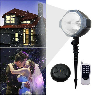 Snow Falling Outdoor Moving Projector Led Garden Christmas