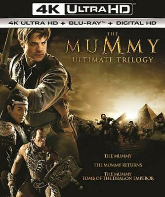 Mummy Ultimate Trilogy New 4K Ultra Hd Blu-Ray