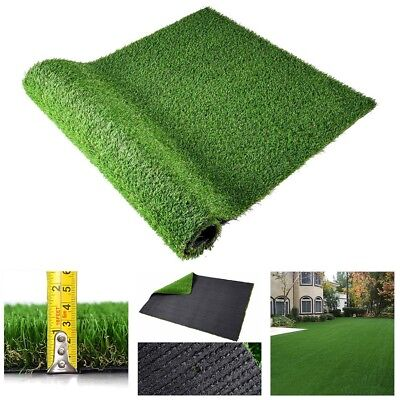 Mulit-Size Artificial Grass Mat Synthetic Turf Fake Lawn 10mm / 30mm Thick Back