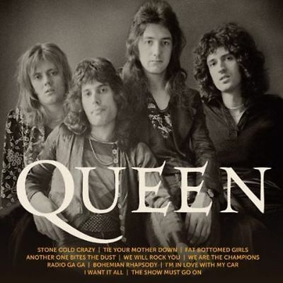 Icon by Queen (CD, 2013, Hollywood)