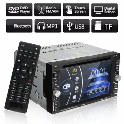 6.2'' Doble 2 Din Bluetooth Coche GPS MP5 Reproductor DVD CD Radio SAT Estéreo