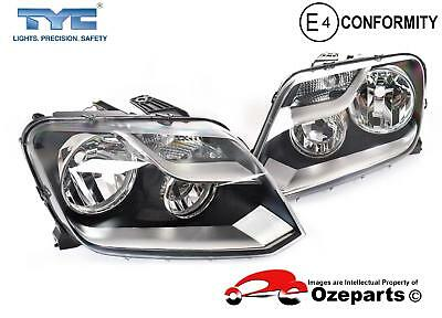 Volkswagen VW Amarok 2H 2010~2016 Pair LH+RH Headlight Head Light Lamp