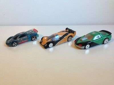 Genuine Transformers Lot Of Three Autobot Cars (Lot 1)
