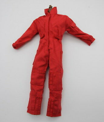 1/6 Scale Uniforms Coveralls Suit Rescue Medical Helicopter Pilot 12""
