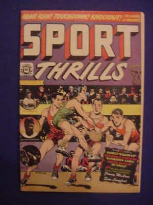 Obscure, 1950, Sport Thrills Comic, #13,  Fn Cond, See Info