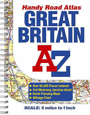 """VERY GOOD"" Great Britain Handy Road Atlas, Author, No, Book"