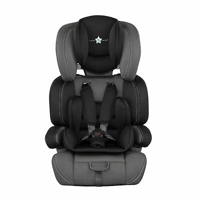 New Cozy N Safe Logan Group 1/2/3 Car Seat Adjustable Car Seat Black / Grey