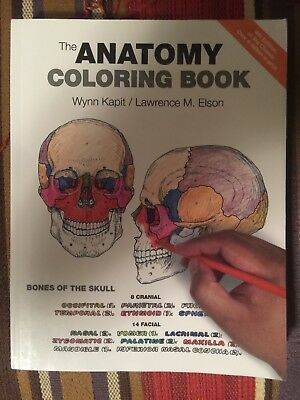 The Anatomy Coloring Book By Lawrence M Elson And Wynn Kapit 2013