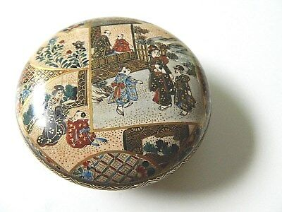 Signed- Asian trinket box-antique