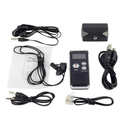 8GB Digital Voice Recorder 650Hr Dictaphone MP3 Player+earphone+microphone HYSG