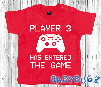 Player 3 Has Entered The Game T-Shirt Gift Child Toddler/Infant Kids Funny