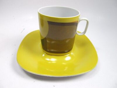 Block Langenthal Transition  Evolution China 1970 Abstract  Cup and Saucer