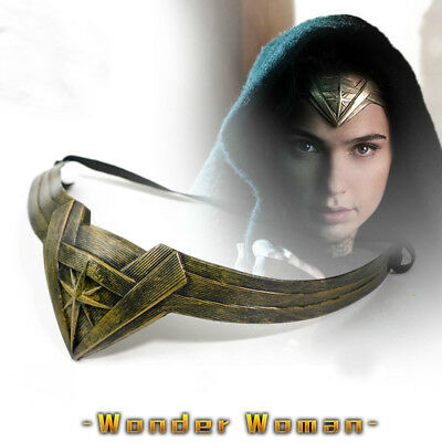 Superhero DC Wonder Woman Cosplay Headdress Armband Accessory Headband