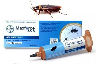 2 X MAXFORCE GOLD Cockroach genuine Product